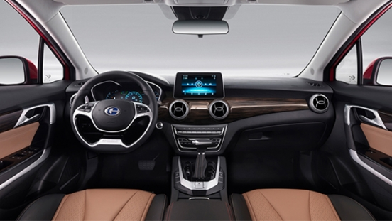 Changhe A6 interior