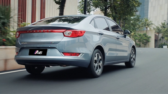 Changhe A6 rear