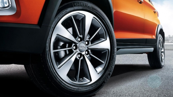 Chery Tiggo 2 Exterior 16-inch two tone alloy wheels Philippines
