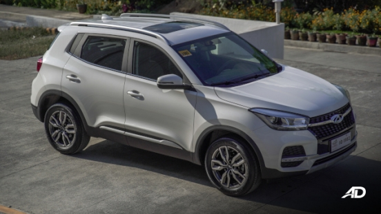 Chery Tiggo 5X Philippines Exterior Side Quarter
