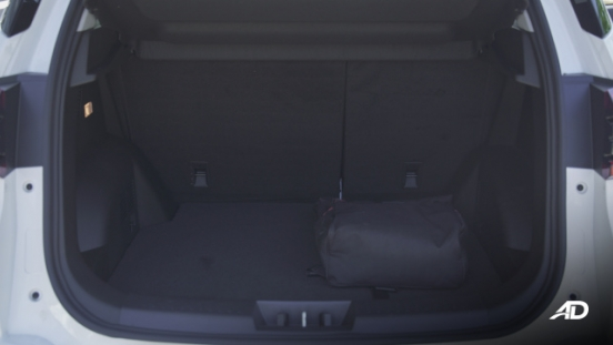 Chery Tiggo 5X Philippines Interior Rear Cargo Space