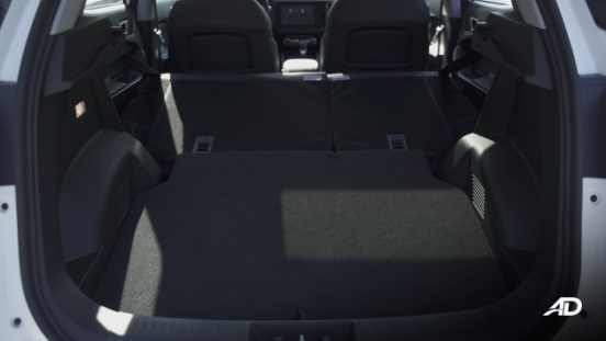 Chery Tiggo 5X Philippines Interior Rear Cargo Space Seats down