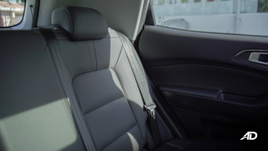 Chery Tiggo 5X Philippines Interior Rear Seats