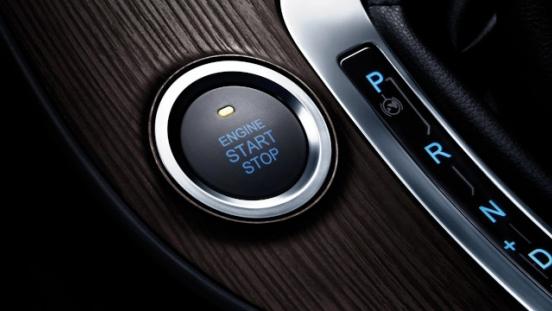 Chery Tiggo 7 Interior Push Start Button
