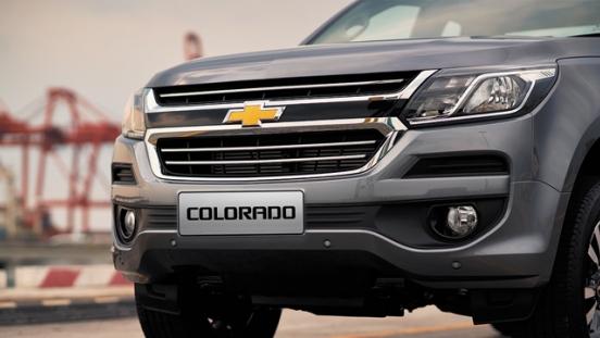 Chevrolet Colorado 2018 front