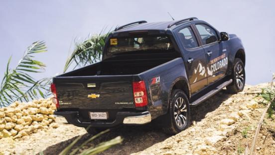 Chevrolet Colorado 2018 rear