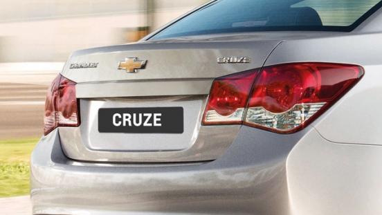 Chevrolet Cruze 2017 rear