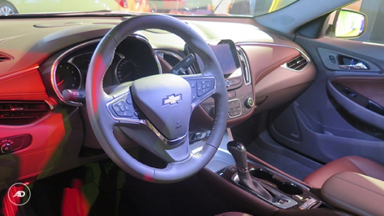 Chevrolet Malibu 2018 interior