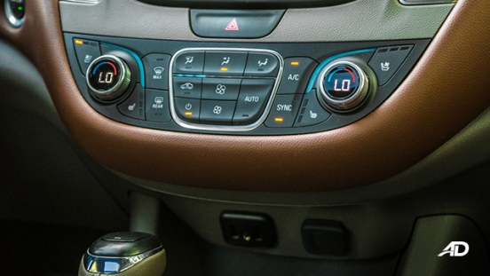 chevrolet malibu review road test climate control interior philippines