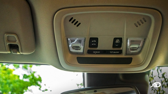 chevrolet malibu review road test dome lights interior