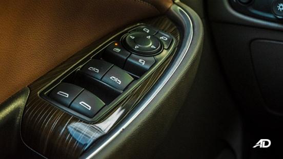 chevrolet malibu review road test door controls interior philippines
