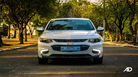 chevrolet malibu review road test front exterior