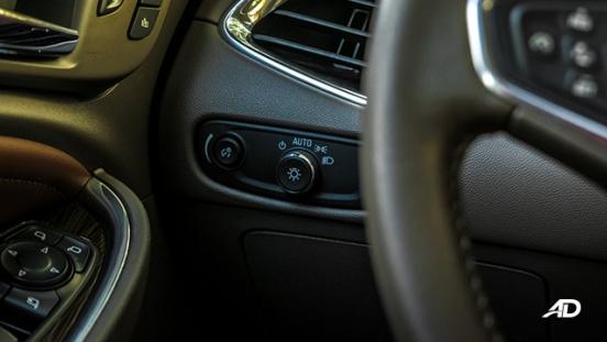 chevrolet malibu review road test headlight controls interior