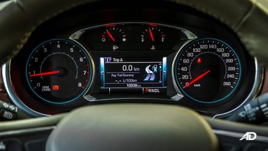 chevrolet malibu review road test instrument cluster interior philippines
