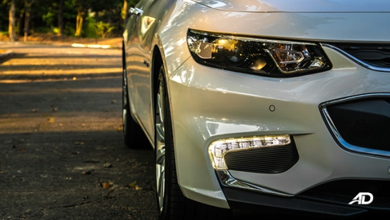 chevrolet malibu review road test led daytime running lights exterior philippines