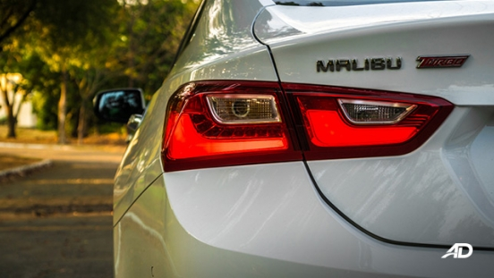 chevrolet malibu review road test led taillights exterior philippines