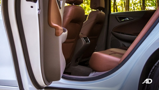 chevrolet malibu review road test rear cabin legroom interior