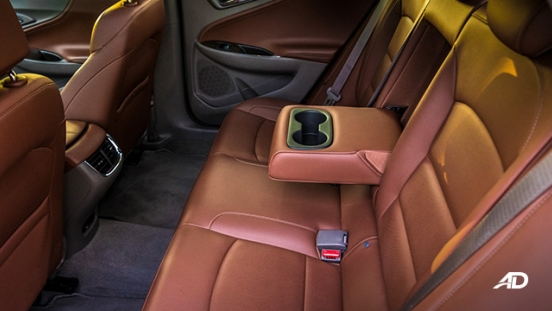 chevrolet malibu review road test rear cupholder interior philippines