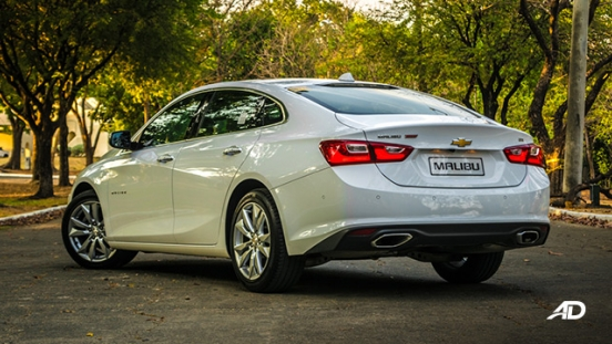 chevrolet malibu review road test rear quarter exterior