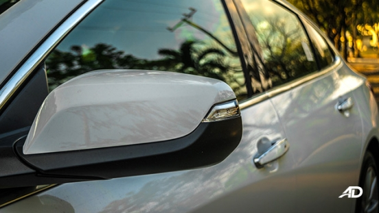chevrolet malibu review road test side mirror exterior philippines