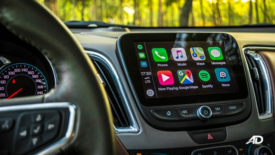 chevrolet malibu review road test touchscreen infotainment apple carplay interior philippines