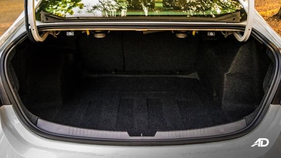 chevrolet malibu review road test trunk cargo interior philippines