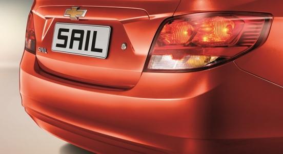 Chevrolet Sail 2018 rear