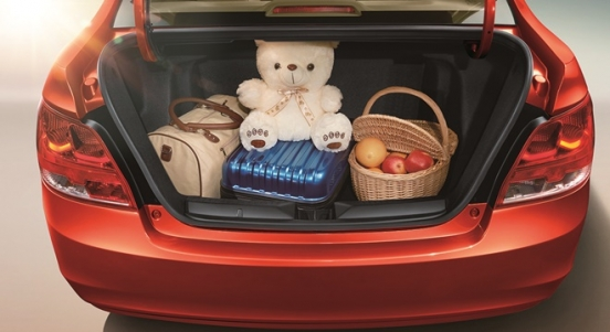 Chevrolet Sail 2018 trunk