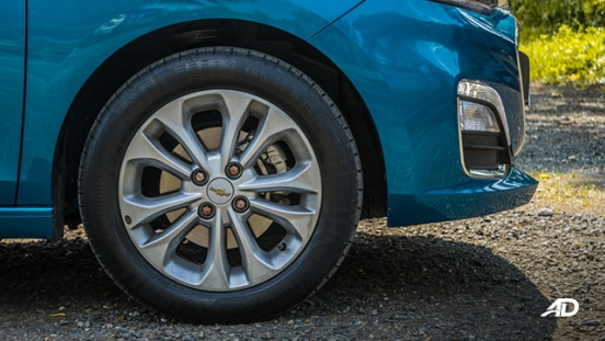 chevrolet spark road test exterior wheels