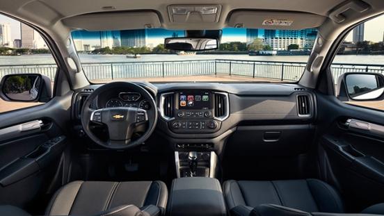Chevrolet Trailblazer 2018 interior