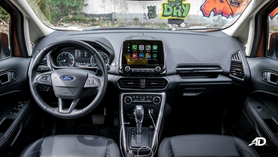 ford ecosport ecoboost road test interior philippines