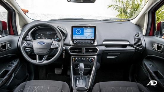 ford ecosport trend road test interior dashboard