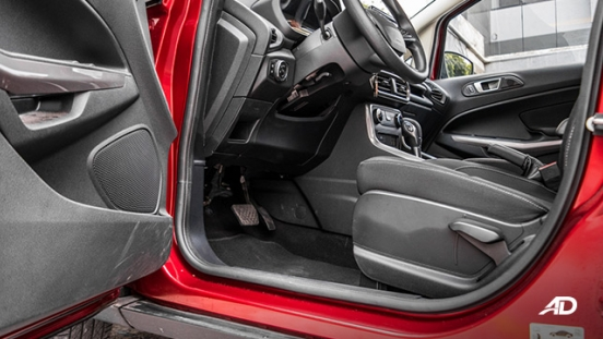 ford ecosport trend road test interior front cabin
