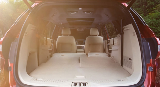 Ford Everest 2018 trunk