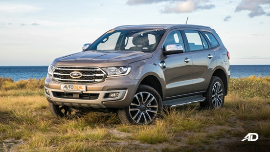 ford everest review road test beauty shot exterior philippines