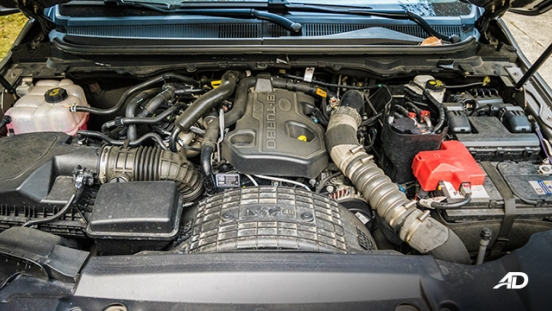 ford everest review road test biturbo engine philippines
