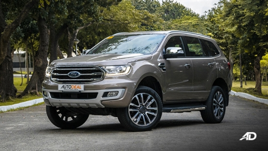 ford everest review road test exterior front quarter philippines