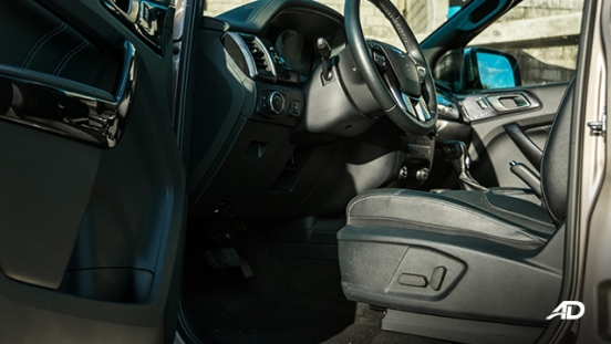 ford everest review road test front cabin interior