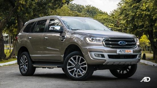 ford everest review road test front quarter exterior