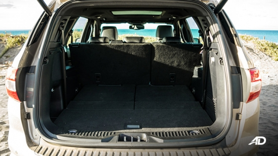 ford everest review road test trunk cargo interior philippines