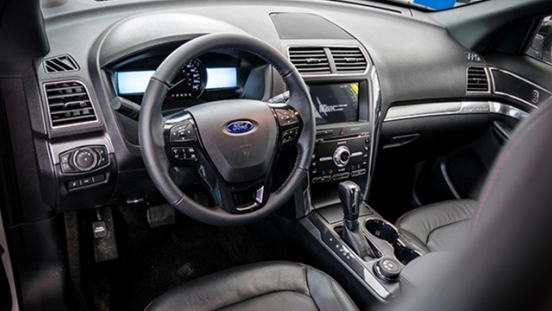 Ford Explorer 2018 interior