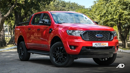 ford ranger fx4 review road test front quarter exterior philippines