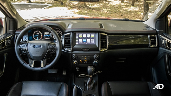 ford ranger fx4 review road test interior dashboard philippines