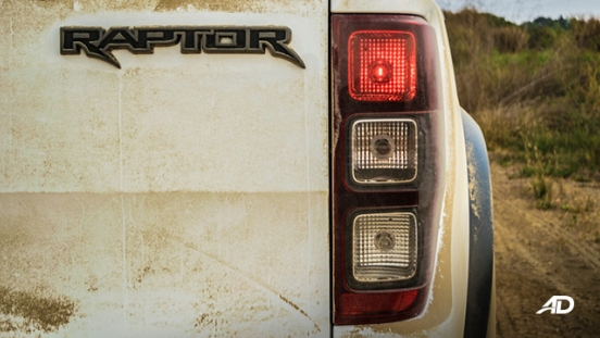 ford ranger raptor exterior road test badge