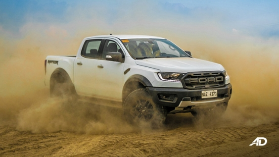 ford ranger raptor exterior road test philippines