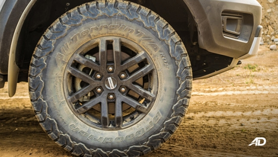 ford ranger raptor exterior road test wheels