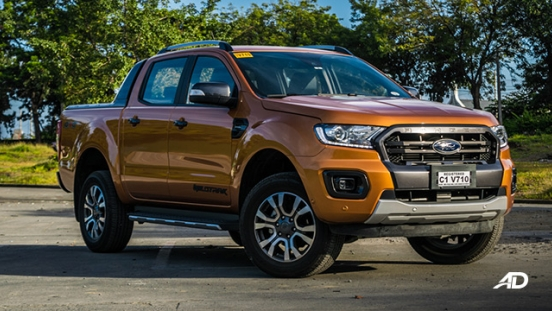 ford ranger road test exterior front philippines