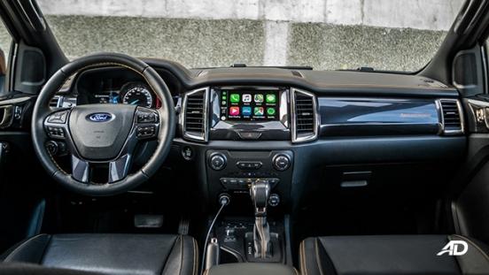 ford ranger road test interior dashboard
