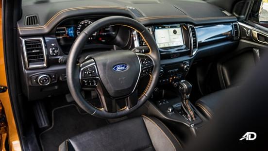 ford ranger road test interior front cabin