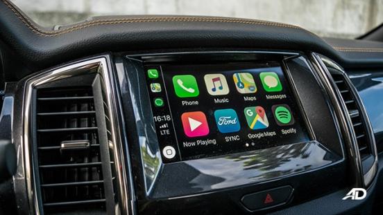 ford ranger road test interior infotainment philippines